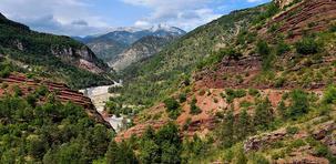 Les gorges de Daluis et du Cians : le Colorado niçois