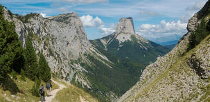 "Mont Aiguille, totem ""inaccessible"""
