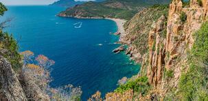 Le golfe de Porto : le joyau rouge de la Corse