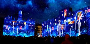 Fête des Lumières : la ville de Lyon comme toile géante