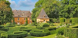 Les jardins d'Eyrignac, le vert à la Française