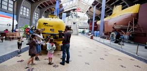Cité de la Mer à Cherbourg, l'aventure maritime