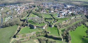 Montreuil-sur-Mer, les remparts de Jean Valjean