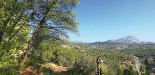 Le GR2013 : une randonnée du côté d'Aix-en-Provence
