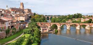 Albi :  ville rose au patrimoine mondial de l'Unesco