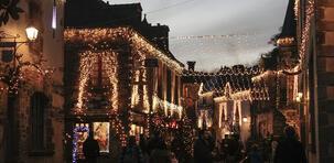 Rochefort-en-Terre : l'équivalent français du village du Père Noël