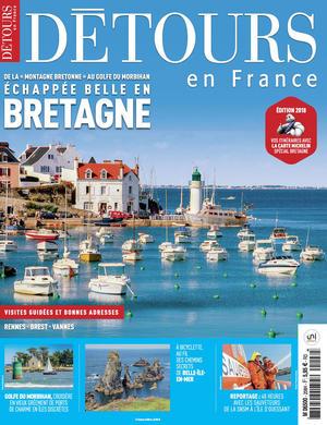 Couverture magazine Détours en France consacré à la Bretagne