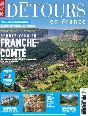 Magazine Détours en France couverture n° 212 Décembre 18 - Janvier 19