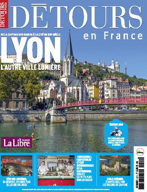 Magazine Détours en France n° 211 couverture