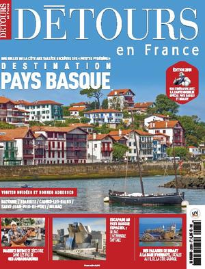 Détours en France couverture n° 209 Destination Pays Basque