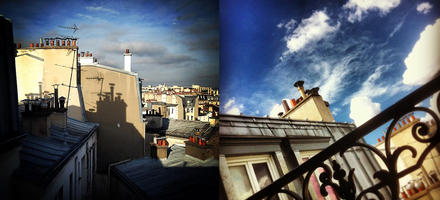 Toits de Paris sur Intagram