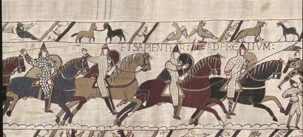 détail tapisserie de Bayeux