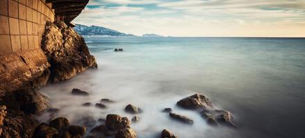 La plage du Prophète à Marseille