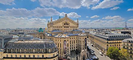 Vue du palais Garnier