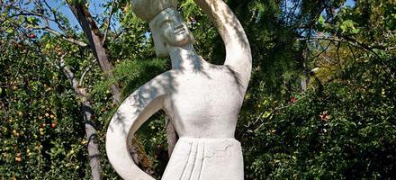 Sculpture des frères Martel