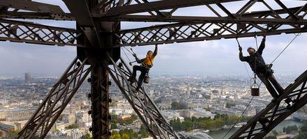 Vue imprenable sur Paris