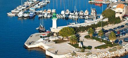Vue du port de La Ciotat