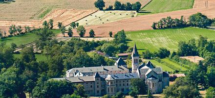 l'abbaye bénédictine Sainte-Scholastique de Dourgne