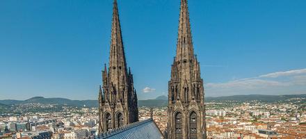 Cathédrale Notre-Dame-de-l'Assomption à Clermont-Ferrand