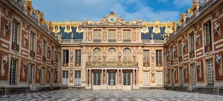 La cour de Marbre Versailles