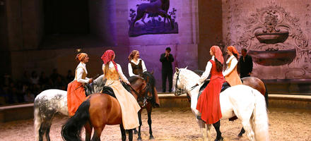 spectacle,equestre,chantilly