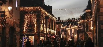 Rochefort-en-Terre à Noël
