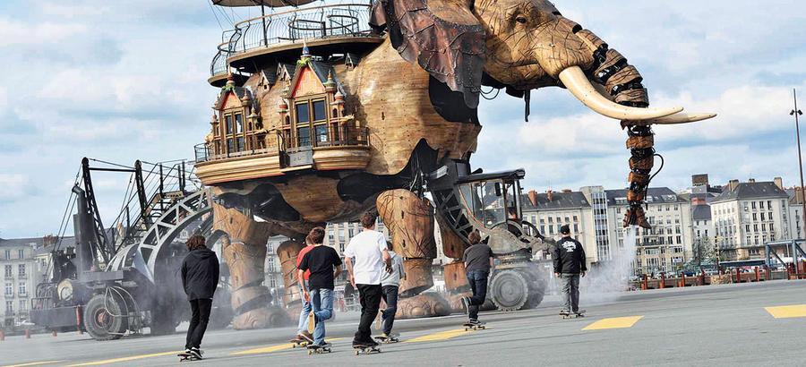 Nantes et ses machines