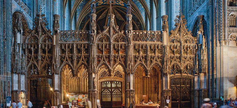 Intérieur de la cathédrale Sainte-Cécile