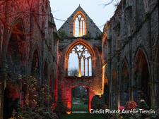 Abbaye de Beauport au moment de Noël