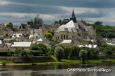 Candes-Saint-Martin, entre chien et loup