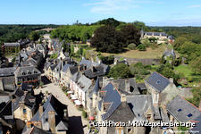 Vue aérienne sur Rochefort-en-Terre