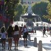 Cours et fontaine Aix