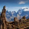 Versant oriental du Petit Mont Blanc